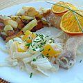Cuisses de poulet coco-mangue