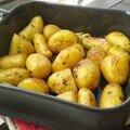 <b>Pommes</b> de <b>terre</b> <b>nouvelles</b> au four