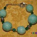 bracelet effet céramique
