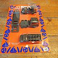 BLISTER VEHICULES MILITAIRES MARQUE <b>NOREDA</b>