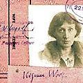 Un petit mot: Virginia Woolf