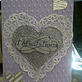 Carte <b>félicitations</b> mariage