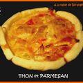 Thon et parmesan ...