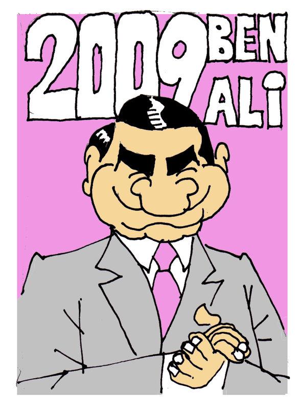 TOUS pour BEN ALI 2009 !