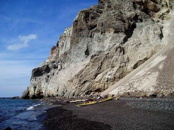Côte Sud de Santorin