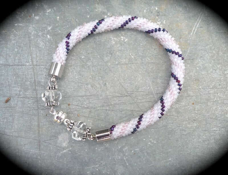 bracelet perle crochet