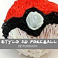 Stylo 3D <b>Pokeball</b> – Explication en vidéo