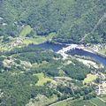 Argentat : le barrage du sablier (19 correze)