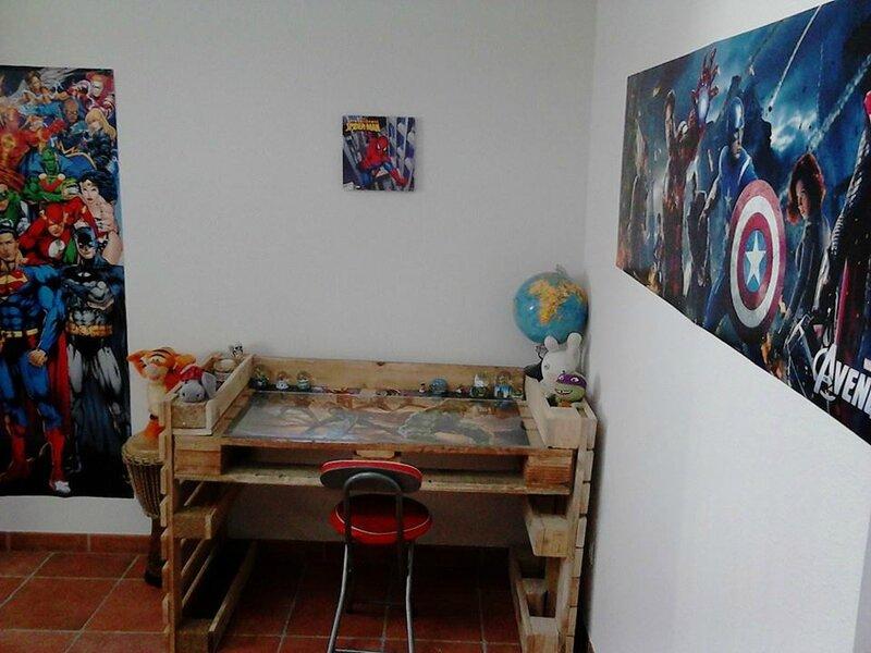Bureau En Palette Facile : Bureau en palette table en palette bois ide terrasse with bureau