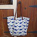 Whales Bag CK 25