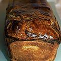 Cake feuilleté au thon et poivrons