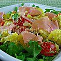 Salade de pommes de terre au prosciutto