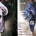 Cravate Ceinture 4en1 réversible