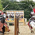Le Championnat d'Europe de Joute réelle à la cité médiévale de <b>Dinan</b> (Bretagne)