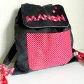 Le sac à dos pour la maternelle de Manon