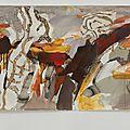Fouilles - 58 x 257 cm