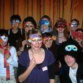 La troupe de la Trappe Nigaud masquée