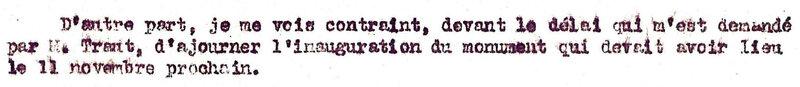 1927 10 31 Maire à Leyritz Tarif décoration élevé socle 1R