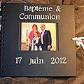 Album Baptême & Communion