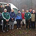 Guewenheim - la marche des « amis de guewenheim » continue