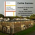 Nouvelle rencontre : cathie barreau