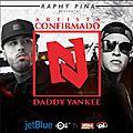 Nicky jam et daddy yankee le 18 septembre 2015 au coliseo a porto rico