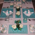 Table turquoise