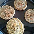 <b>Baghrirs</b> crêpes marocaines