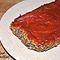Lentil loaf (pain de lentilles)
