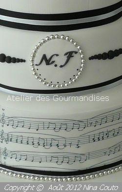 atelier des gourmandises wedding cake NINOSHKA DETAILS