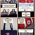 Le must des sacs polochons personnalisés pour accompagner vos we, vos sorties sportives ou bébé en promenade