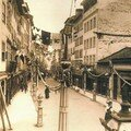 Coimbra antiga - Praça do Comércio