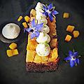 Pudding Façon Tatin Mangue-Ananas et Gingembre