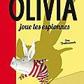 Olivia joue les espionnes de <b>Ian</b> <b>Falconer</b>