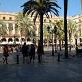 Barri gòtic : la plaça reial