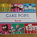 Le livre cake pops de bakerella