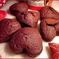 Coeurs chocolat mascarpone