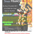 Stage Franco-Russe 2011