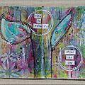 PAGE #13 SAUVEZ NOS PAGES pour ART JOURNAL CAFE