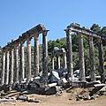 Turquie, Côte égéenne et Pamphylie (10/25). Autres cités grecques plus au Sud.