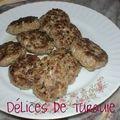 Petits hamburgers turcs - köfte