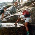 Rando alpine bavella - passage délicat