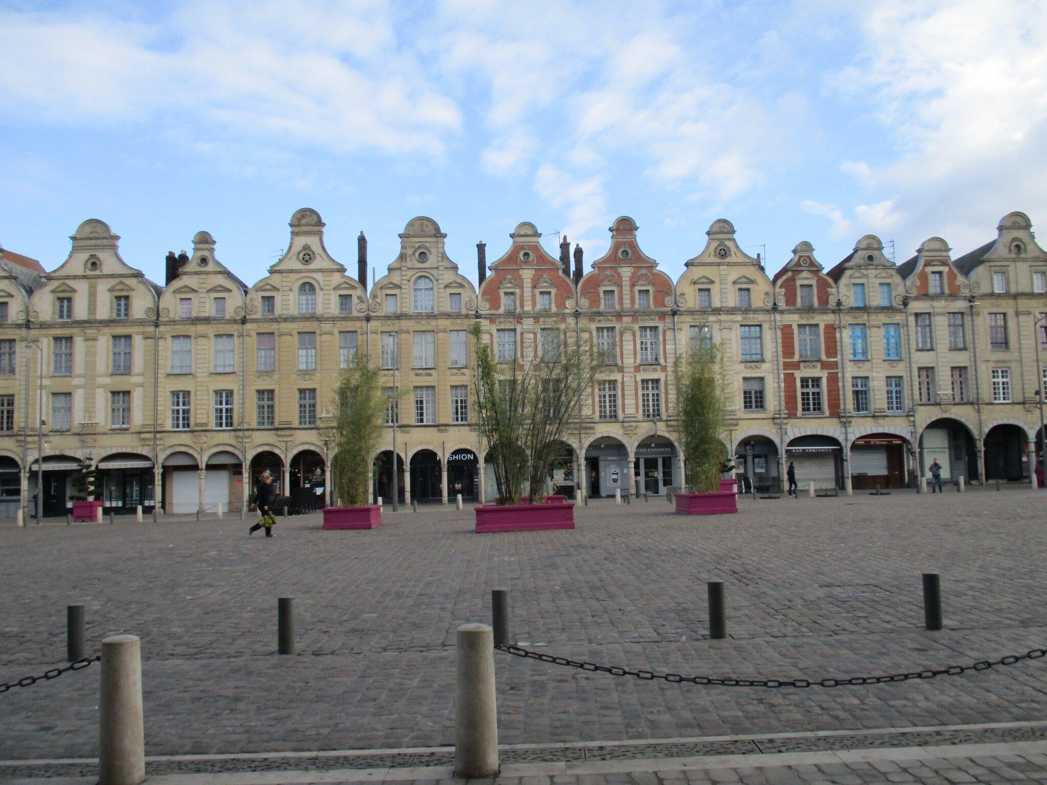 Echos, échos de notre week-end à Arras