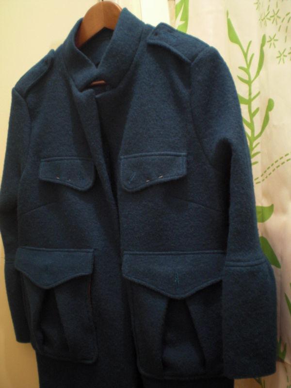 Naissance d'une veste - Janv. 2010... à suivre en 2011 !