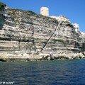 Bonifacio - l'escalier du Roi Aragon