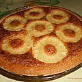 Tarte Ananas Coco.