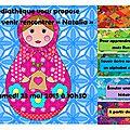 Venez rencontrer natalia à la médiathèque le 23/05/2015