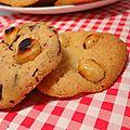 Cookies sirop d'érable-noisettes-chocolat blanc ou chocolat noir