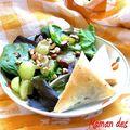 Duo croustillant et sa salade