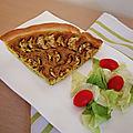 Recette rapide et facile : tarte courgette et graine de chia